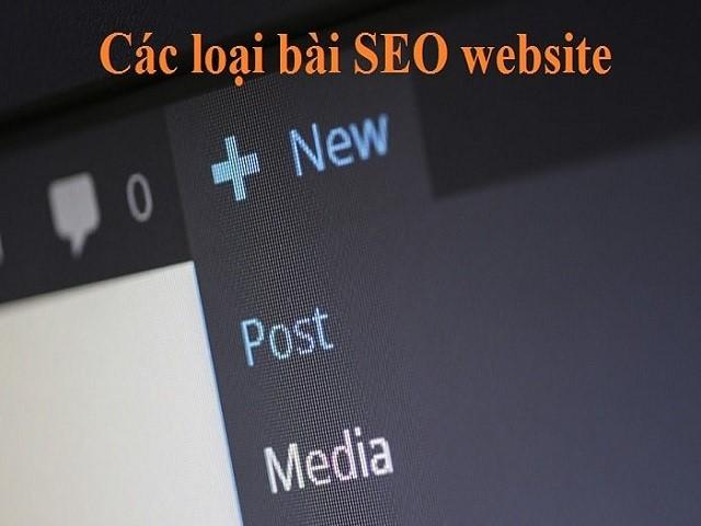 Bạn có biết loại bài SEO cho website nào được sử dụng phổ biến nhất hiện nay?