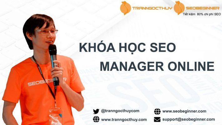SEO Manager Tran Ngoc Thuy